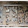 Conques – Abbatiale – Détail du Tympan