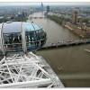Houses of Parliament vue de London Eye