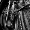 Une trompette dans un piano