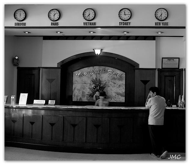 Hochiminville – Hall d'hôtel
