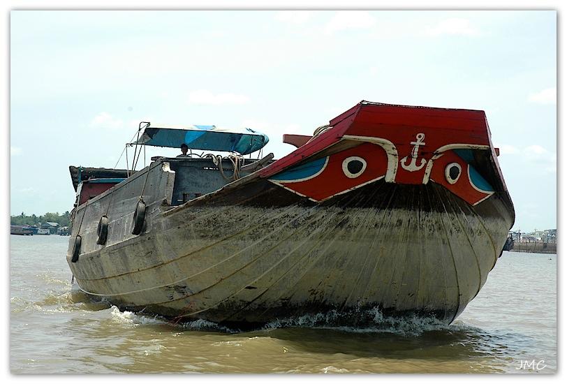 Embarcation sur le Delta du Mékong photo