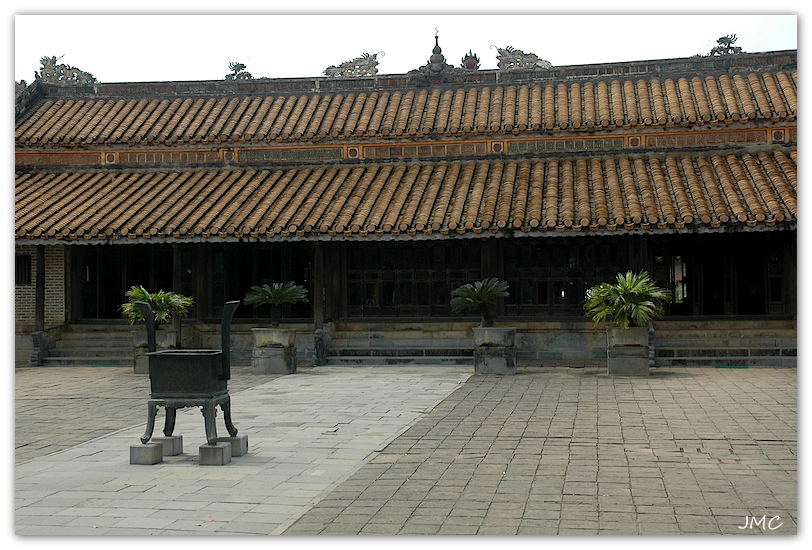Huê – Tombeau du Roi Tu-Duc – Temple