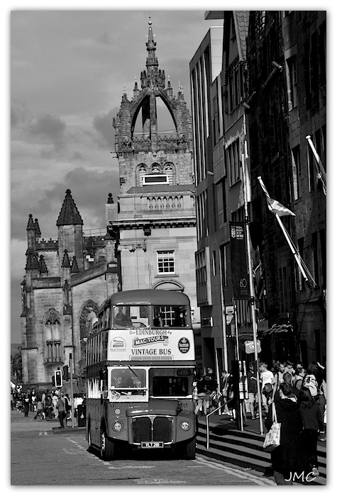 Edinburgh Bus à Impériale photo