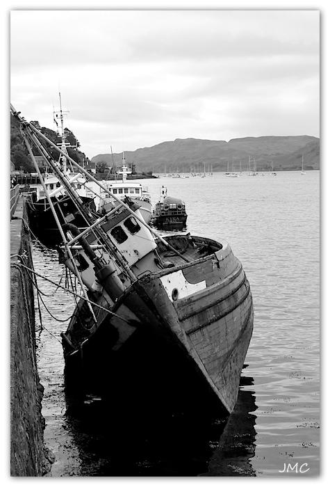 Oban – Marée basse