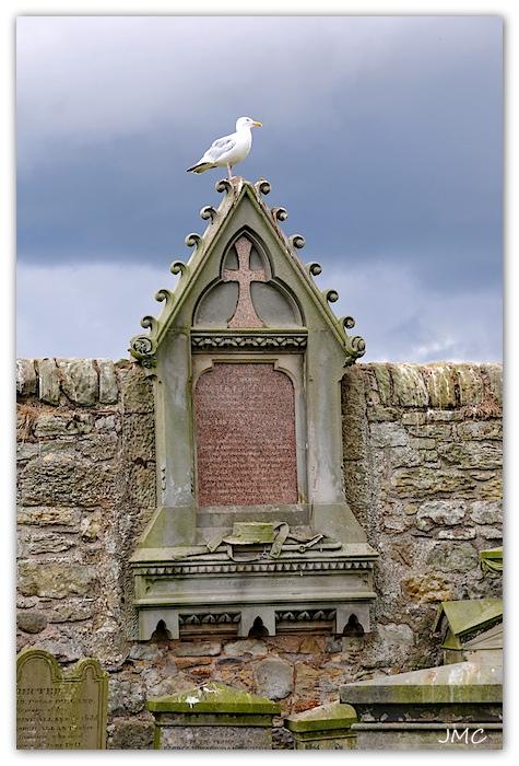 St Andrews – Mur du cimetière