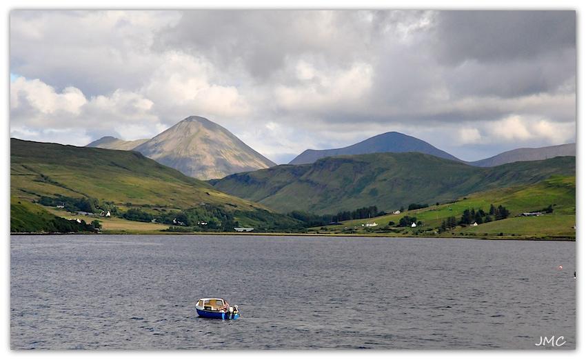 Isle of Skye – Vue depuis distillerie Talisker photo