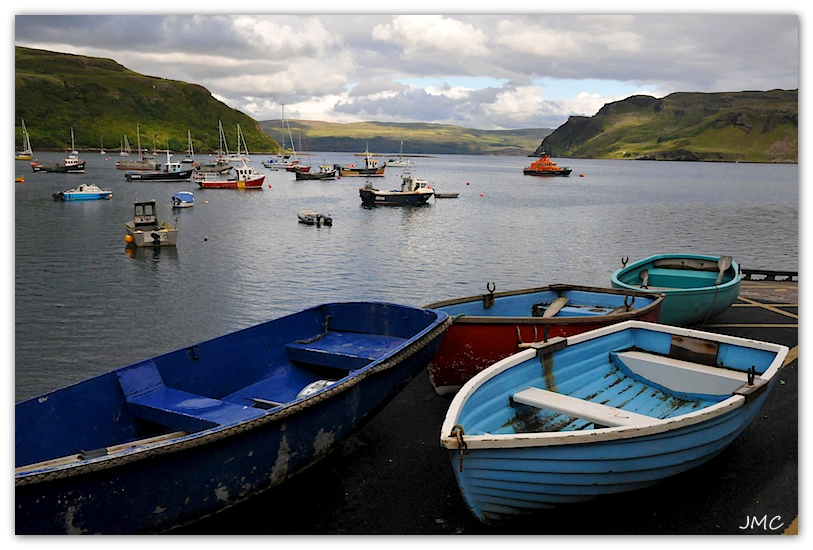 Isle of Skye – Portree – Le Port