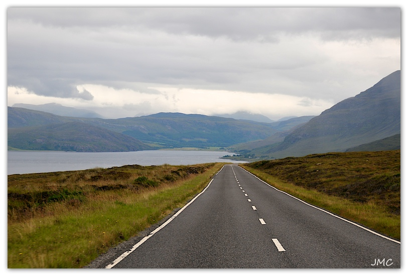 Sur la route d'Ullapool photo