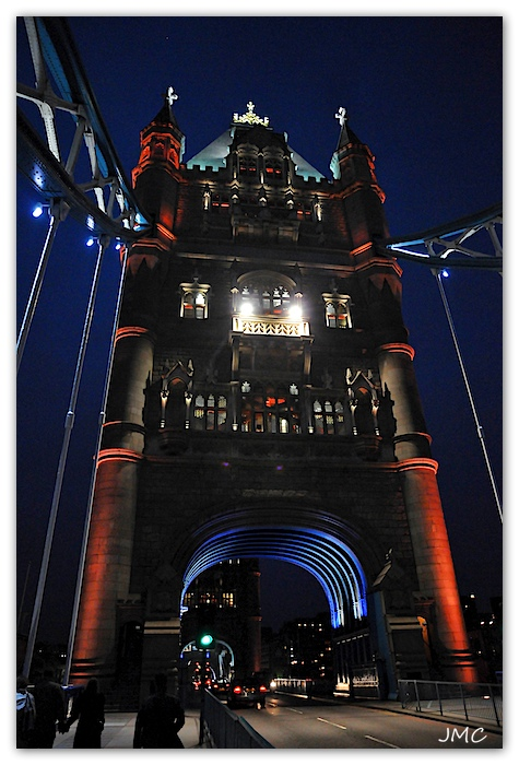 Tower Bridge by night 2 photo