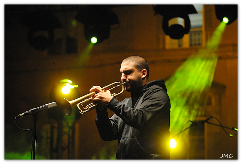 Ibrahim Maalouf 5 Carcassonne photo