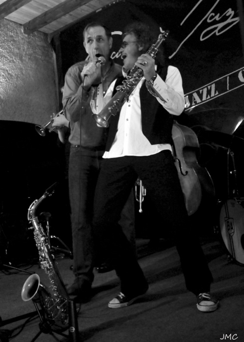 Eric Luter – Christophe Tellez – Cave à Jazz 5-11-2011 photo